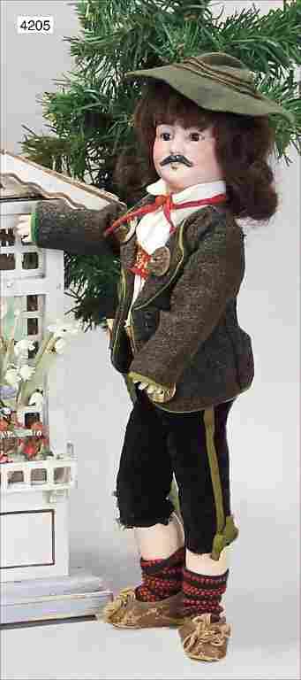 """SIMON & HALBIG, """"König Ludwig"""" around 1902, unusual man"""