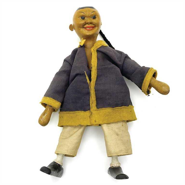 Schoenhut, Albert, Chinaman Acrobat (Chinese acrobat),