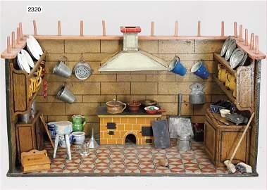 kitchen with chimney hood, c. 100, 67 c wide, 38 cm