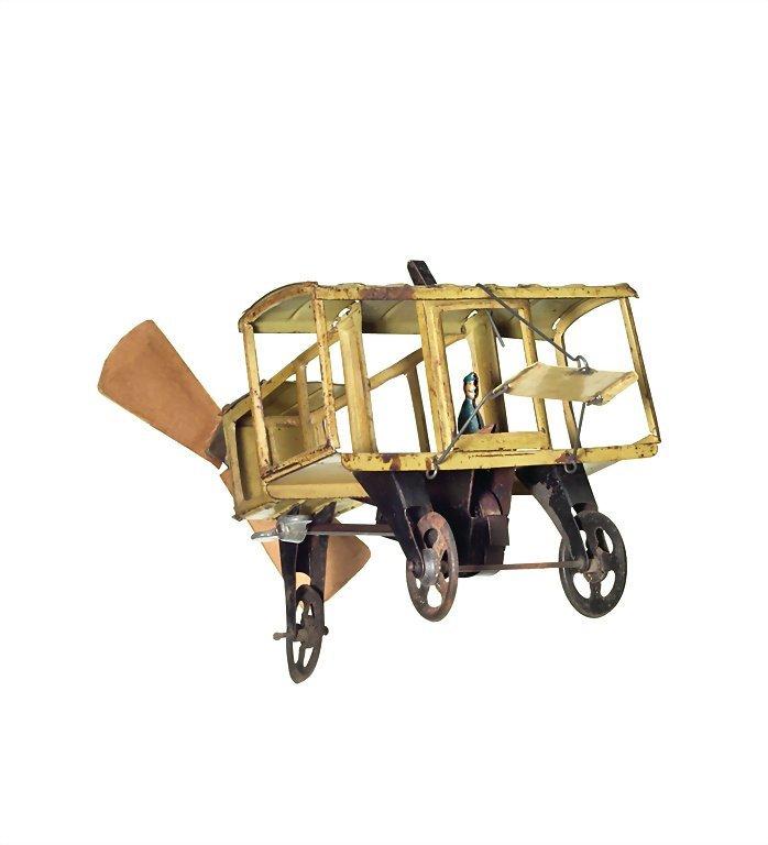 Fischer, Heinrich biplanes Wright, sheet metal, around