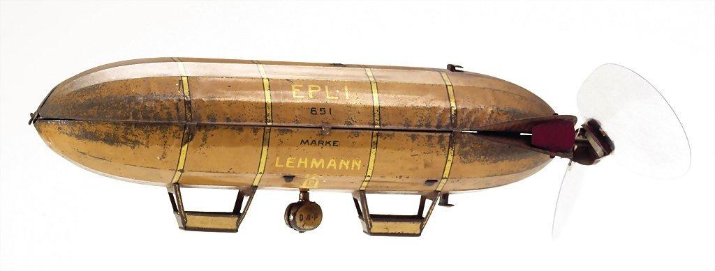 Lehmann Ernst Paul Patentwerk zeppelin EPL I, sheet