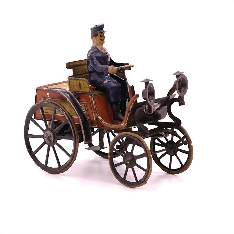 Günthermann, Siegfried coach with engine, sheet metal,