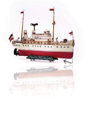 """Märklin, Gebr. und Cie. passanger steamer """"Kronprinz"""