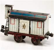 MÄRKLIN age-old, track 1, beer carriage, Löwenbräu,