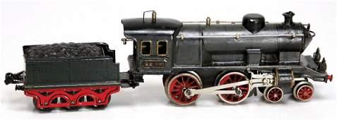 MRKLIN EE 1020, grau/schwarz, Schlepptenderlok 2B,