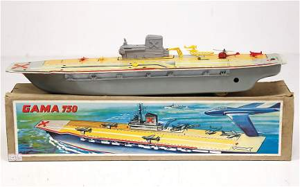 GAMA aircraft carriers, sheet metal, lithographed 44