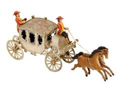 DRESDNER PAPPE Christmas tree decoration, state coach
