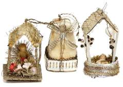 SEBNITZ Christmas tree decoration, 3 pieces, windmill,