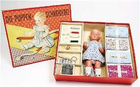 SCHILKRT doll tailoring with Schildkrt Inge fix