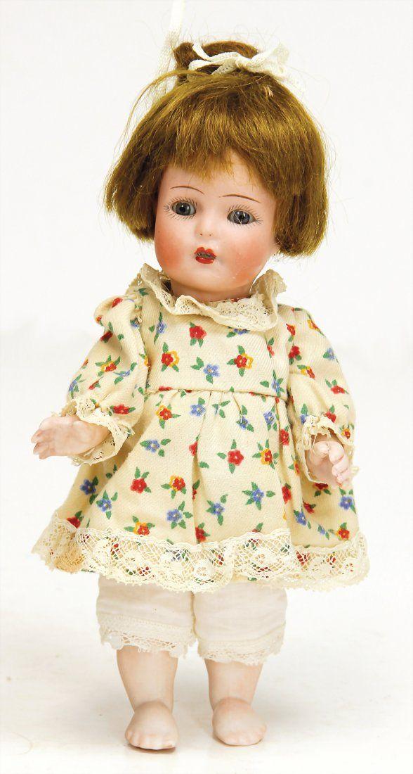 KMMER & REINHARDT all-bisque doll, 18 cm, socket head,
