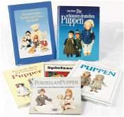 Konv 6 x Fachliteratur fuumlr Puppen Teddys und