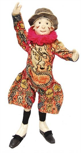 Steiff Clown Coloro, Produced Between 1911 - 1919,