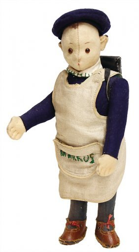 "Steiff Advertising Figure ""markus"", 19 Cm,"