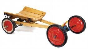 Steiff Dutchman, 83 Cm, Tin Wheels With Rubber Tyres,