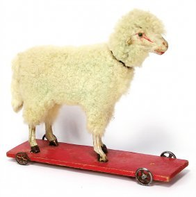 Wool Sheep With Voice, Head Nodding-mechanism, On