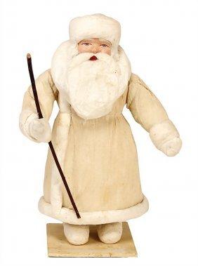 Santa Claus, Russia, Cotton Wool, Crepe Dress, Papier