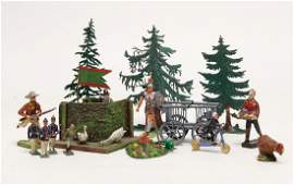 treasure chest, set up figure for an early station,