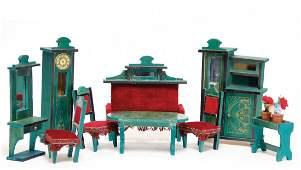 dollhouse furniture program, art nouveau, cupboard,