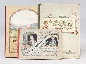 """3 Kinderbücher, """"die Brave Bertha"""","""