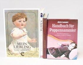 """4 X Fachliteratur Puppen, """"handbuch Für"""