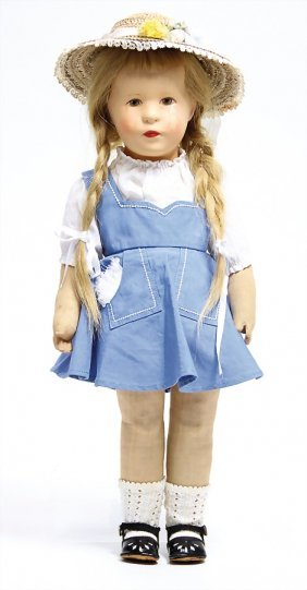 Käthe Kruse Mädchen, Puppe Nr. 8,