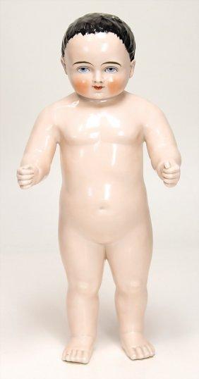 Badepuppe,frozen- Charlie, Glasiertes Porzellan, 38 Cm