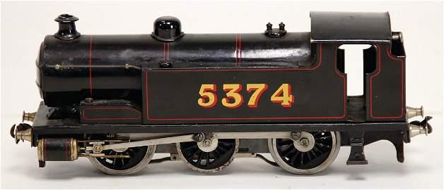 HORNBY Spur 0, Tenderlok C, schwarz mit roten