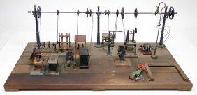 Grundplatte, Holz, Mit Hochtransmission, Märklin,