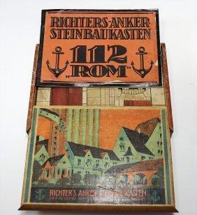 Richter Anker, Steinbaukasten 112, Rom, Mit Anleitung,