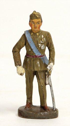Elastolin Franco, 2. Weltkrieg, Masse, 7,5 Cm, Bewegl.