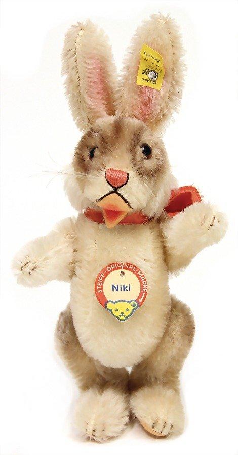STEIFF Niki, hare, complete, No. 5322, very good