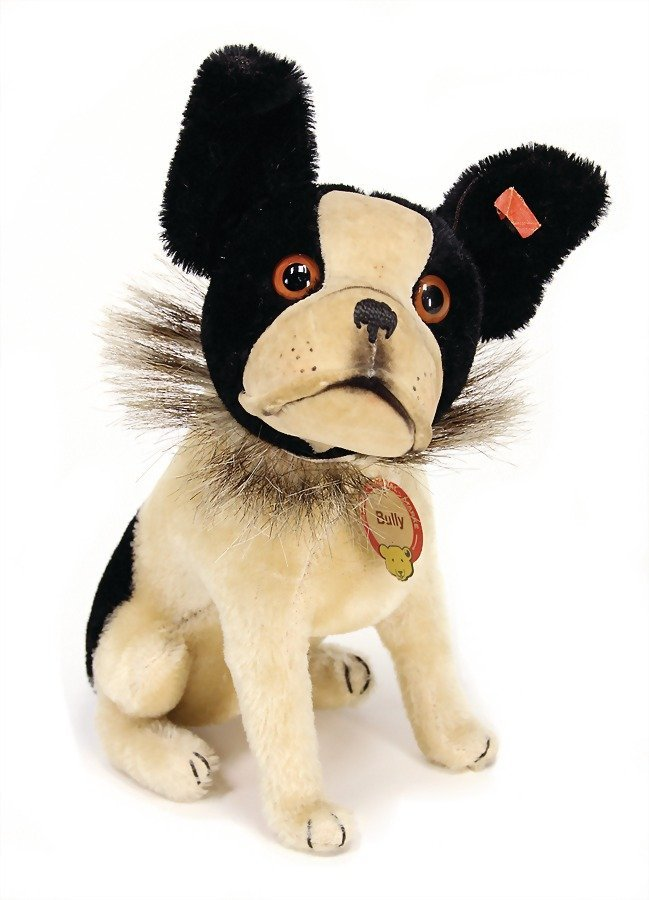 STEIFF Bully, with button, chest label and cloth tag