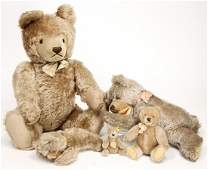 STEIFF mixed lot of bears, mask bear, 50 cm, with