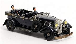 TIPP & CO. leader car, sheet metal, 23 cm,