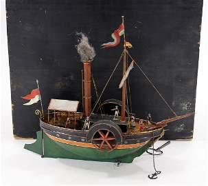 wheel steamer,