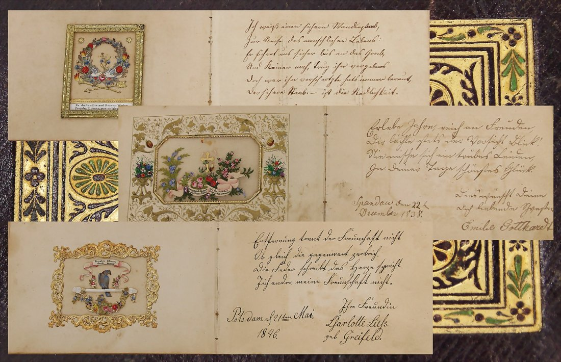 album for Karl Gotthardt, 1838 - 1875, by father,