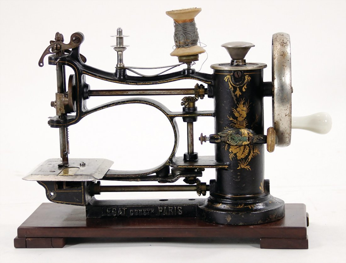 rare sewing machine forchildren  or travelling, LEGAT,