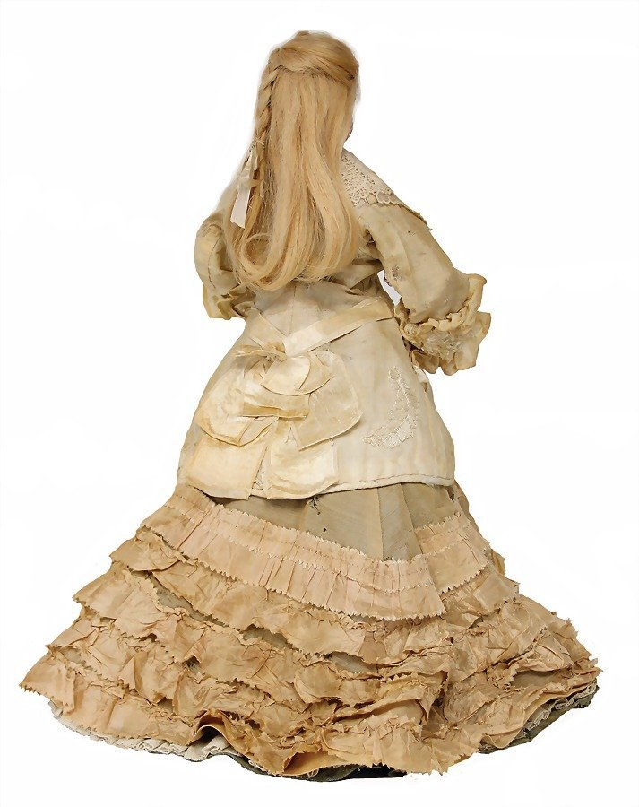 French Fashion Doll, bisque socket head on a bisque - 2