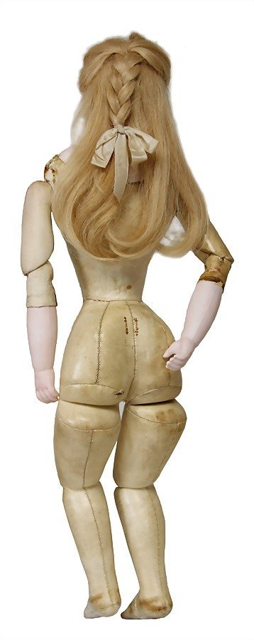 French Fashion Doll, bisque socket head on a bisque - 6