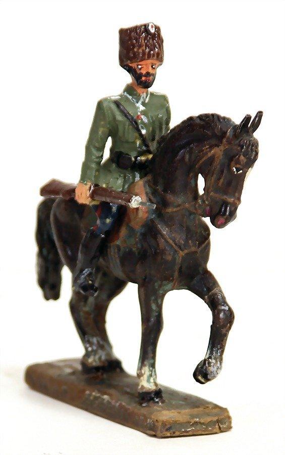 Lineol, Tartar 2. Weltkrieg, 7,5 cm, Reiter mit
