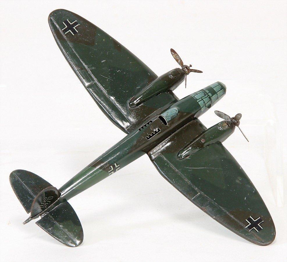 LEHMANN 833, Flugzeug, 13,5 cm, bespielt gut   German