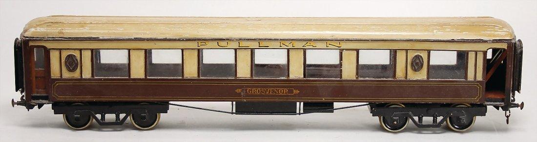 BASSETT LOWKE Personenwagen, Metall, Holz, Spur 1, 60
