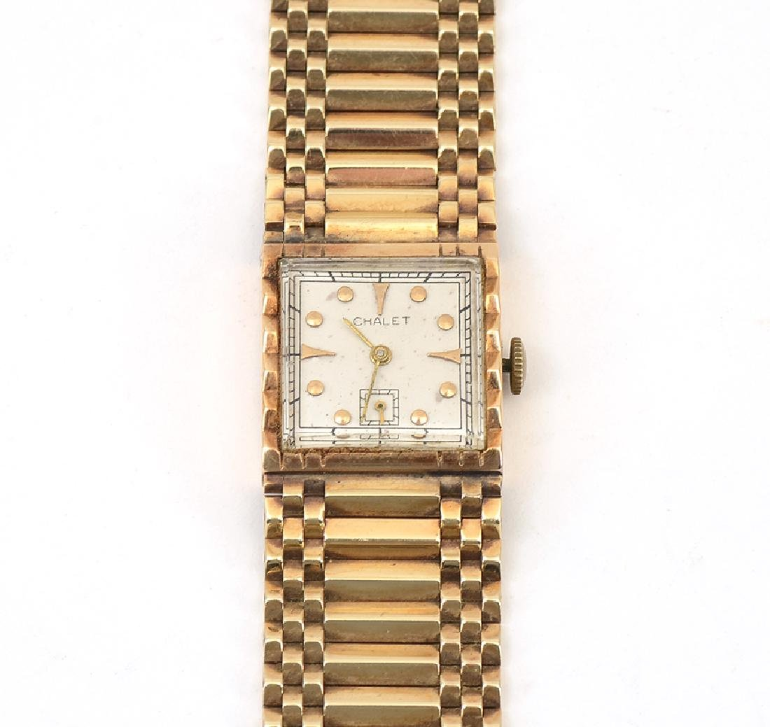 FRANKLIN ROOSEVELT 14K CHALET PRESENTATION WATCH