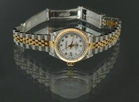 LADIES WATCH SS/18K DATEJUST AUTOMATIC WATCH #6917