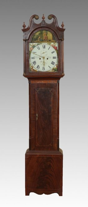 19TH CENTURY DAVID GREIG SCOTTISH TALL CASE CLOCK