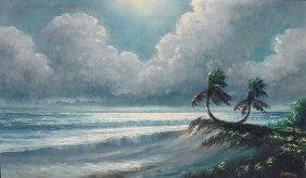 HAROLD NEWTON RIO MAR FLORIDA HIGHWAYMEN PAINTING