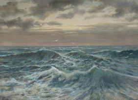 EDWARD R. SITZMAN OCEAN SWELLS PAINTING