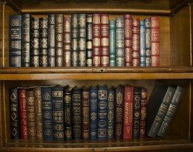 37 EASTON PRESS LEATHER BOUND BOOKS