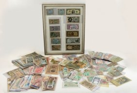 LARGE COLLECTION OF FOREIGN CURRENCY