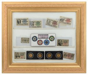1893 EXPOSITION TICKETS & FRACTIONAL CURRENCY
